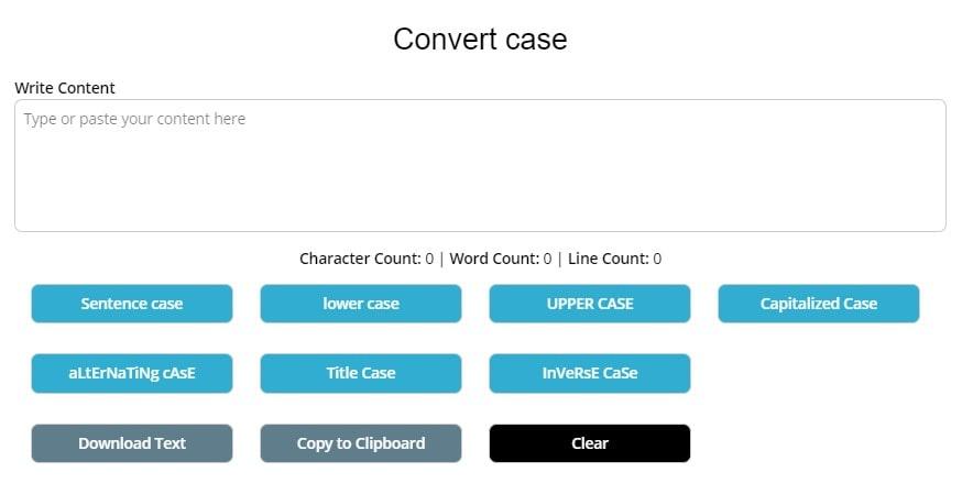 Convert Case