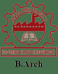 Anna University-B Arch Latest Syllabus of 2018-2019