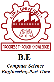 B.E Computer Science Engineering-Part Time