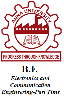 B.E Electronics and Communication Engineering-Part Time