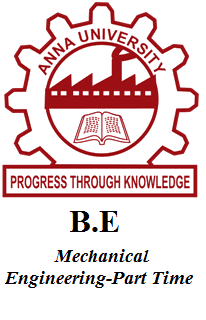 B.E Mechanical Engineering-Part Time
