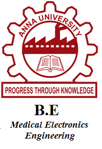 B.E Medical Electronics Engineering