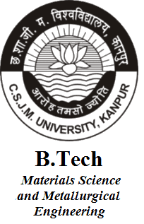 B.Tech Materials Science and Metallurgical Engineering