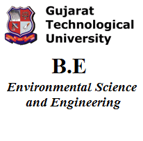 B.E Environmental Science and Engineering