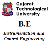 B.E Instrumentation and Control Engineering