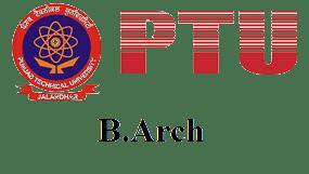 PTU-B Arch Latest Syllabus of 2018-2019