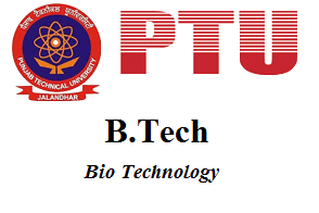 B.Tech Bio Technology