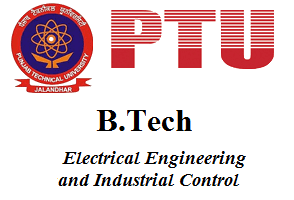 B.Tech Electrical Engineering and Industrial Control