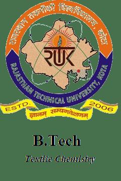 RTU-B Tech TC-Textile Chemistry Latest Syllabus of 2018-2019